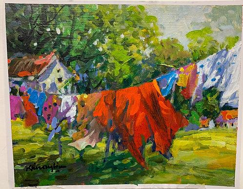 6: Clothesline
