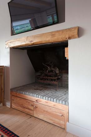 House Venter - living area fireplace #2.