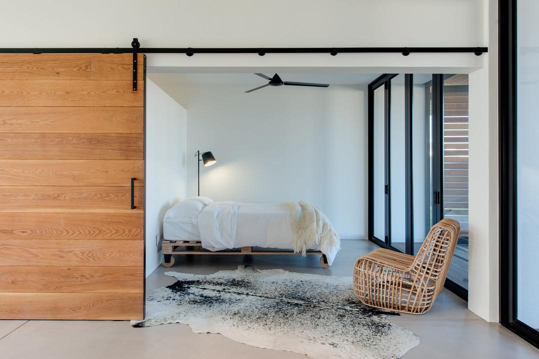 schwegmann house - ground floor bedroom