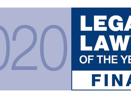 Daniel Cooper nominated for Legal Aid newcomer of the year award