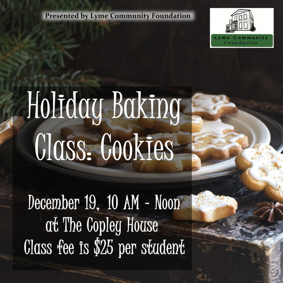 Holiday Baking Class: Cookies