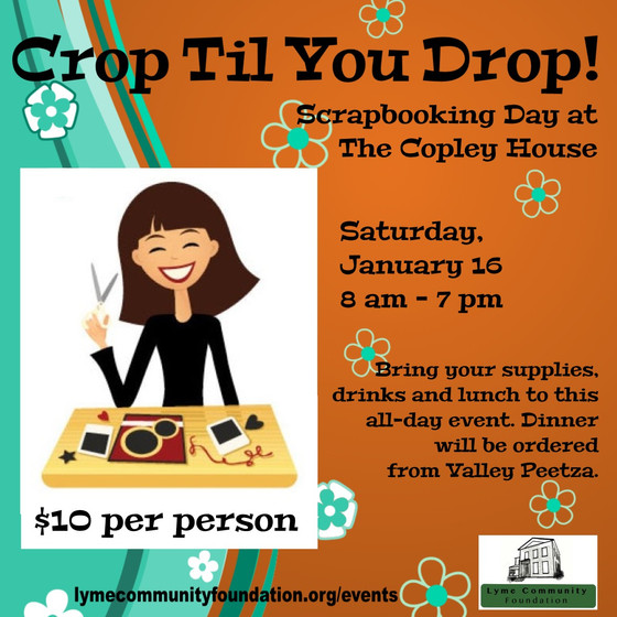 Scrapbook Crop 'Til You Drop!