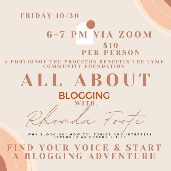 All About Blogging with Rhonda Foote