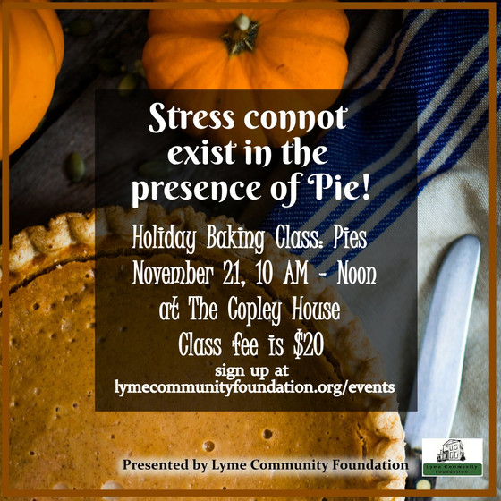 Holiday Baking Class: Pies