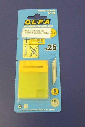 Roland Sheet Cut Off Blades (25 per box)