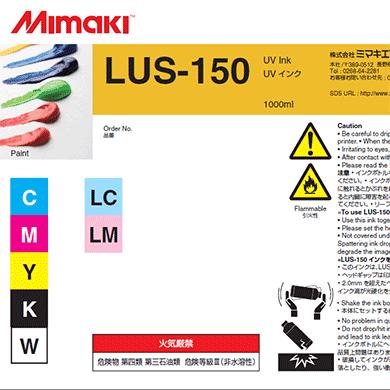 Mimaki LUS-150 1 liter UV Ink Bottle for JFX200