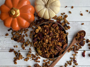 Pumpkin Spice and Everything Nice Granola