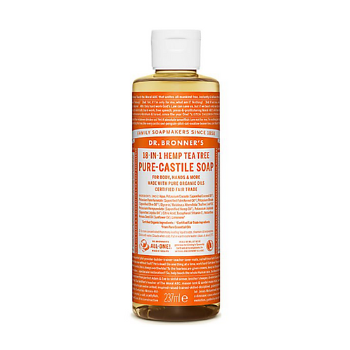 DR BRONNER'S TEA TREE PURE-CASTILE LIQUID SOAP - 237ML
