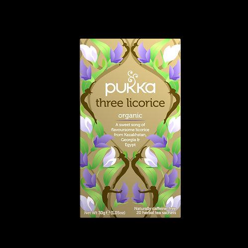 PUKKA THREE LICORICE TEA (20 BAGS)
