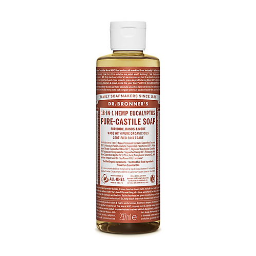 DR BRONNER'S EUCALYPTUS PURE-CASTILE LIQUID SOAP - 237ML