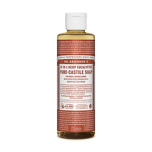 DR BRONNER'S EUCALYPTUS PURE-CASTILE LIQUID SOAP - 237ML