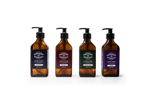 BARBERSHOP BOTANICALS NATURAL HAND SOAP