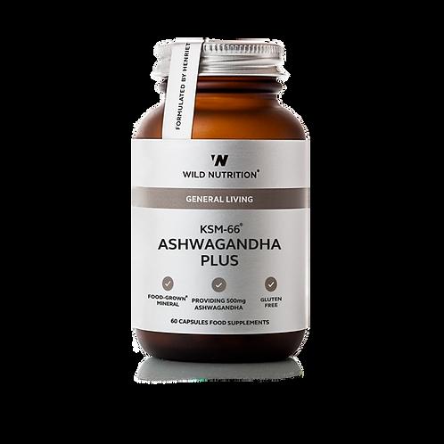 WILD NUTRITION KSM-66® ASHWAGANDHA PLUS(60 CAPS)