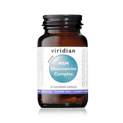 VIRIDIAN GLUCOSAMINE MSM COMPLEX (30 CAPS)