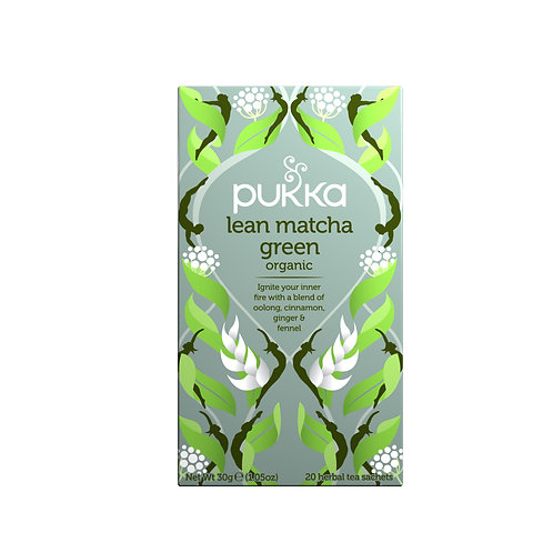 PUKKA LEAN MATCHA GREEN TEA (20 BAGS)