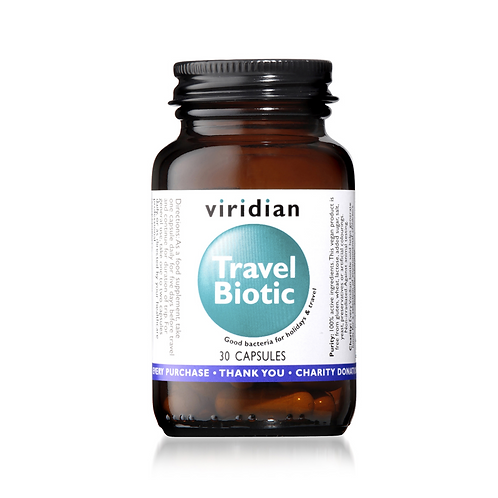 VIRIDIAN TRAVEL BIOTIC (30 CAPS)