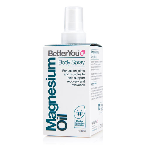 BETTERYOU MAGNESIUM OIL ORIGINAL SPRAY 100ML