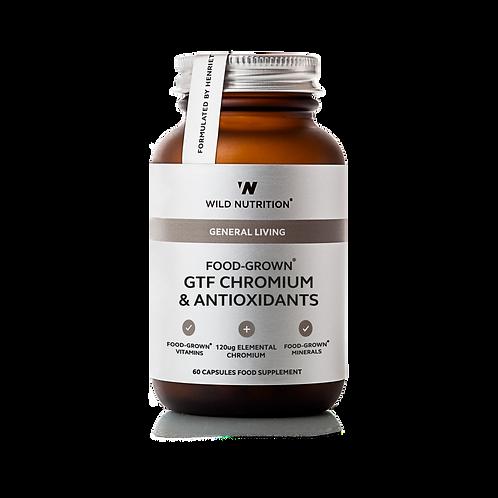 WILD NUTRITION FOOD-GROWN GTF CHROMIUM & ANTIOXIDANTS (60 CAPS)