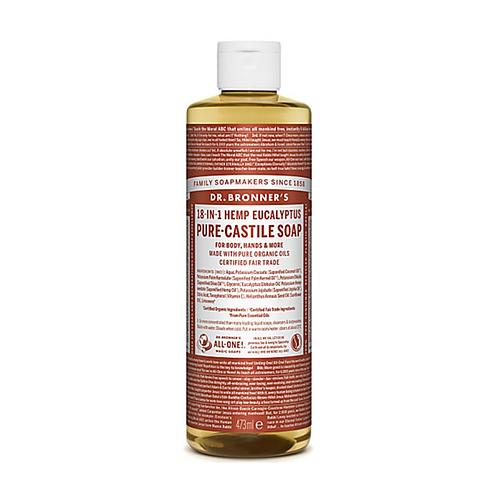 DR BRONNER'S EUCALYPTUS PURE-CASTILE LIQUID SOAP - 473ML