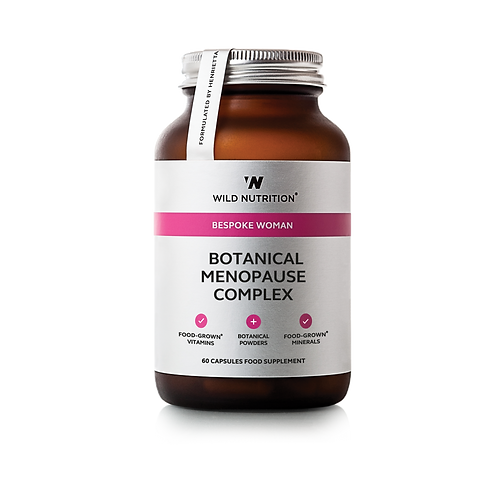 WILD NUTRITION BESPOKE WOMAN BOTANICAL MENOPAUSE COMPLEX (60 CAPS)