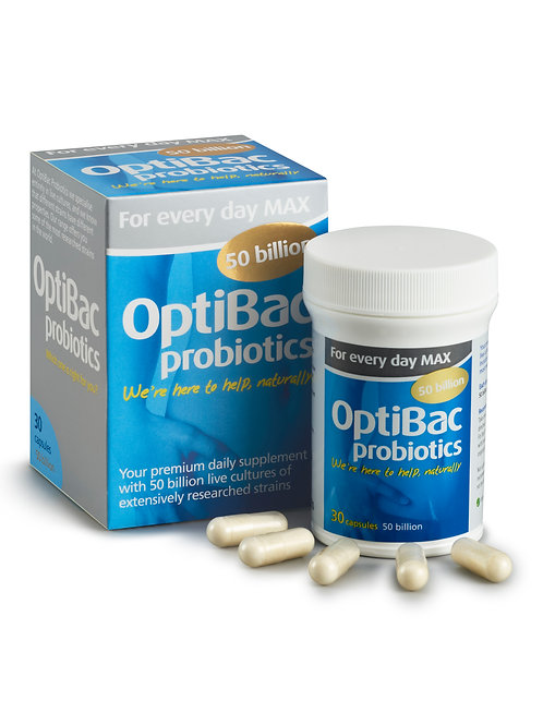 OPTIBAC PROBIOTICS FOR EVERY DAY MAX (30 CAPS)