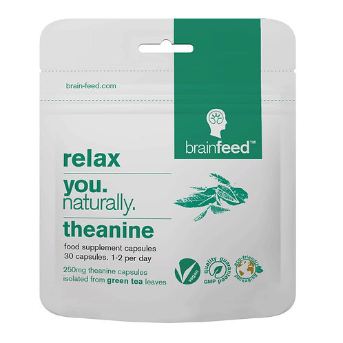 BRAIN FEED THEANINE RELAX NATURALLY (30 CAPS)