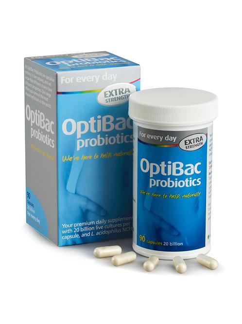 OPTIBAC PROBIOTICS FOR EVERY DAY EXTRA STRENGTH (90 CAPS)