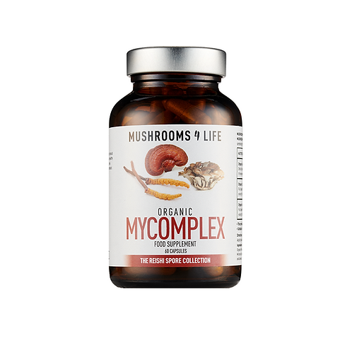 MUSHROOMS4LIFE ORGANIC MYCOMPLEX (60 CAPS)