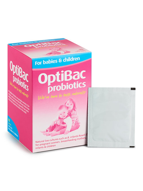 OPTIBAC PROBIOTICS FOR BABIES & CHILDREN (90 SACHETS)