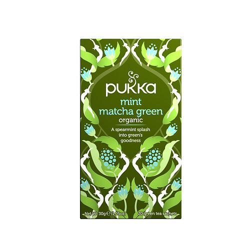 PUKKA MINT MATCHA GREEN TEA (20 BAGS)