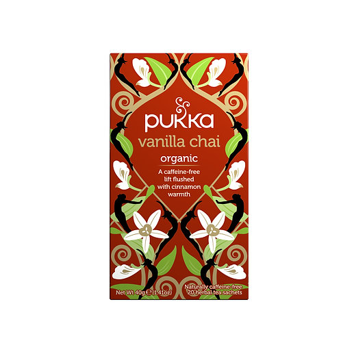 PUKKA VANILLA CHAI TEA (20 BAGS)