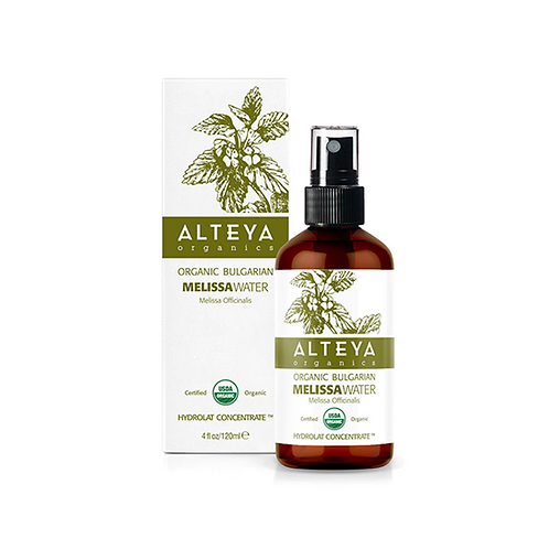 ALTEYA ORGANIC BULGARIAN MELISSA WATER SPRAY IN AMBER GLASS 120ML