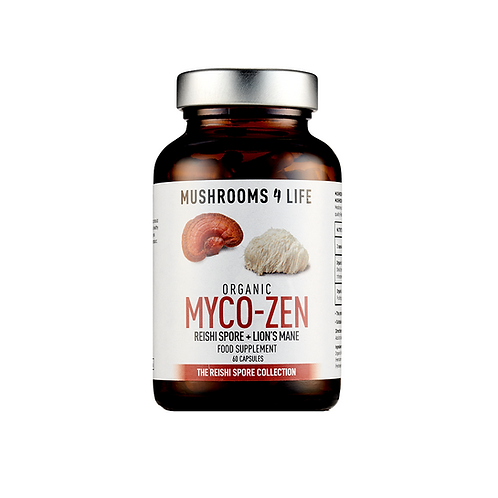 MUSHROOMS4LIFE ORGANIC MYCO-ZEN (60 CAPS)
