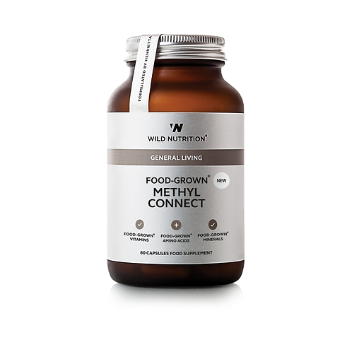 WILD NUTRITION FOOD-GROWN METHYL CONNECT (60 CAPS)