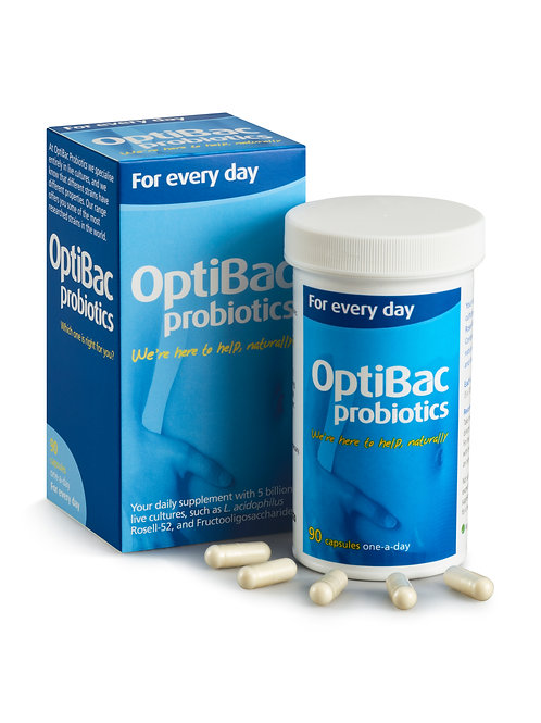OPTIBAC PROBIOTICS FOR EVERY DAY 90S