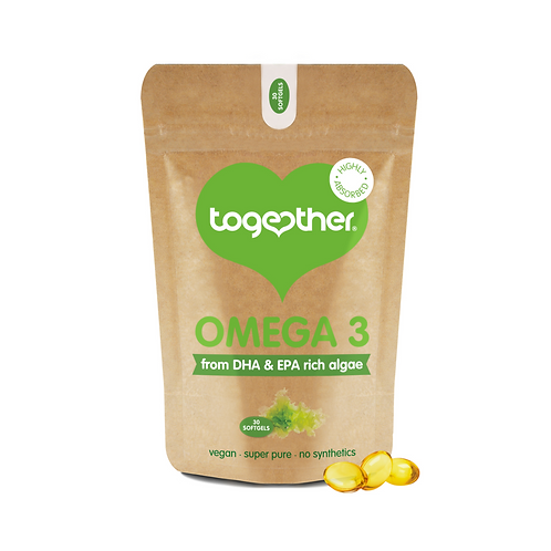 TOGETHER ALGAE OMEGA 3 (30 SOFTGELS)
