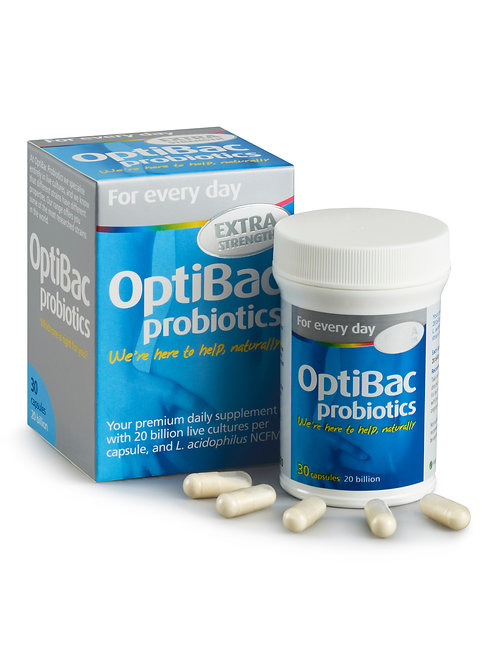 OPTIBAC PROBIOTICS FOR EVERY DAY EXTRA STRENGTH (30 CAPS)
