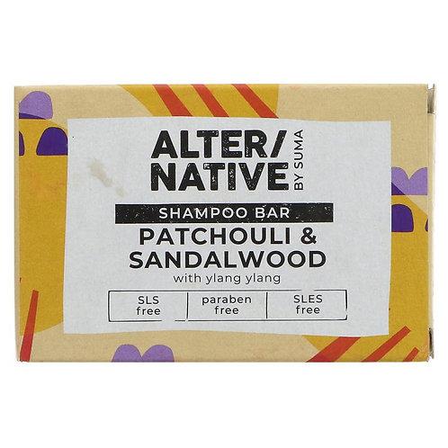 ALTER/NATIVE SOLID SHAMPOO BAR PATCHOULI & SANDALWOOD