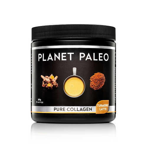 PLANET PALEO PURE COLLAGEN TURMERIC LATTE (260g)