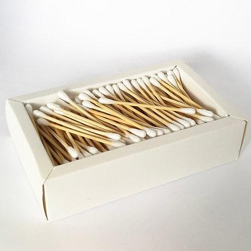 ADD A BOX OF BAMBOO COTTON BUDS