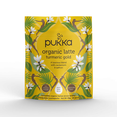 PUKKA TURMERIC GOLD LATTE POWDER (90g)