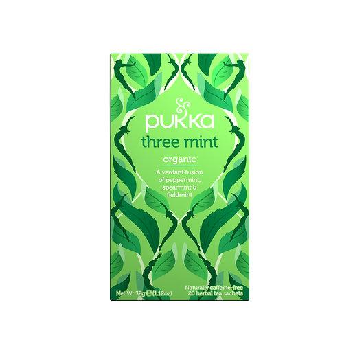 PUKKA THREE MINT TEA (20 BAGS)