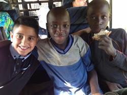 Working with Children in Kenya