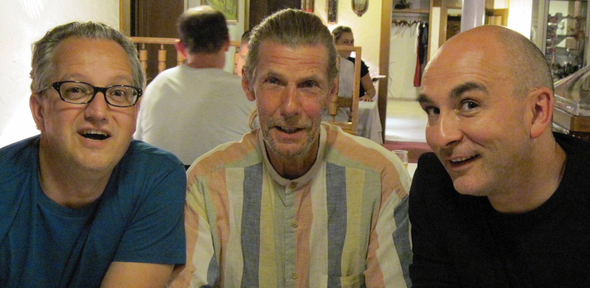 Volker, Pete, Ralf