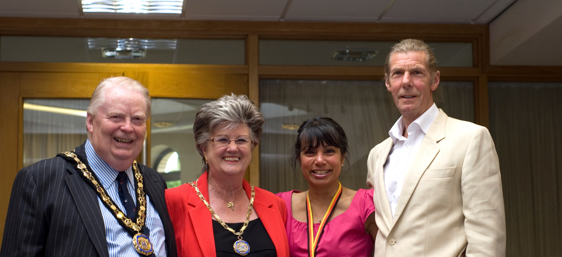 Mayor, Mayoress, Yas & Pete.jpg