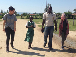 Working with Comic Relief in Kenya