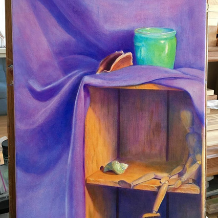 Painting Purple Curtain.jpg