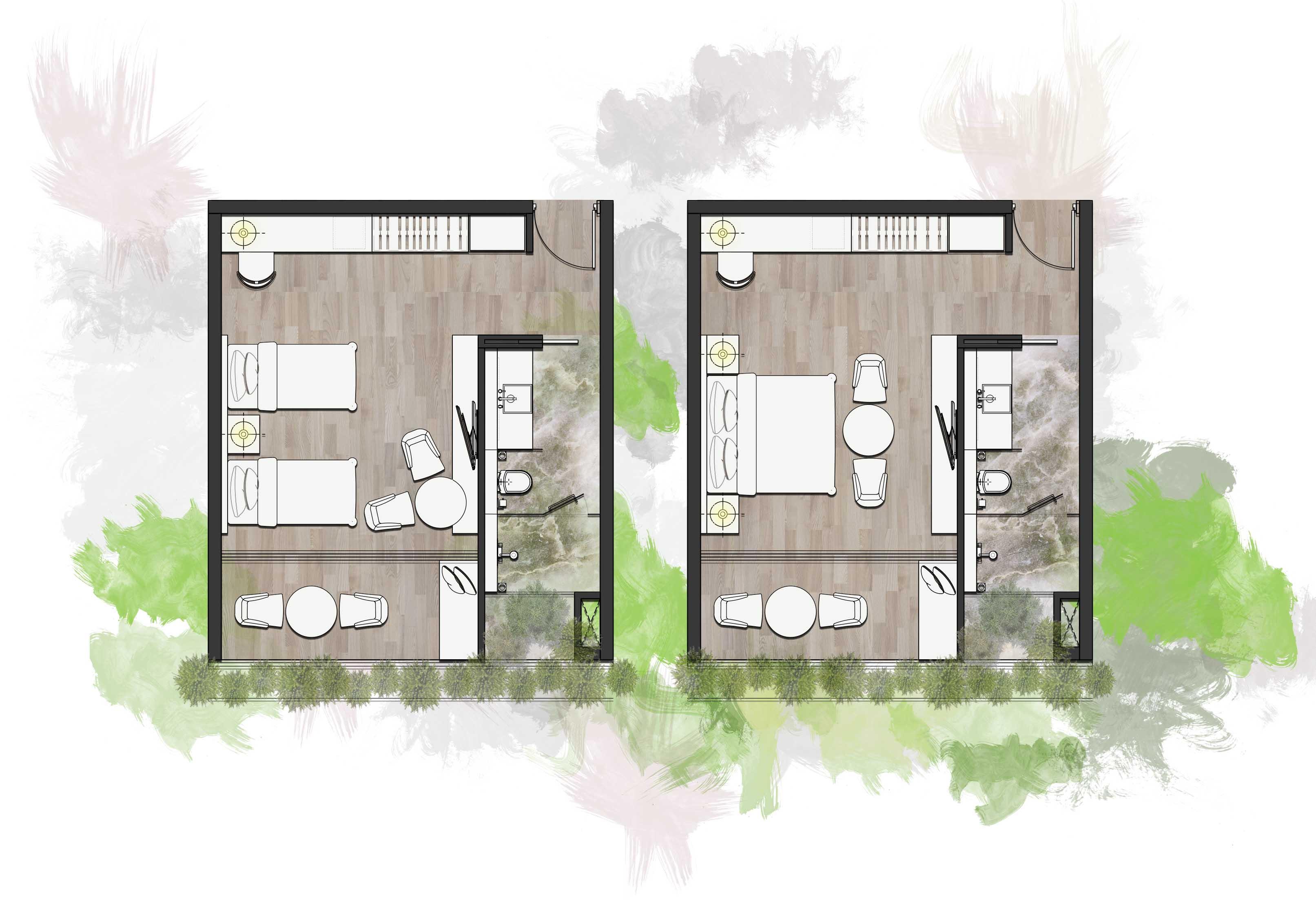 Standard Room Floorplan