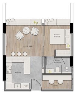 Juinagar Residences 1BR