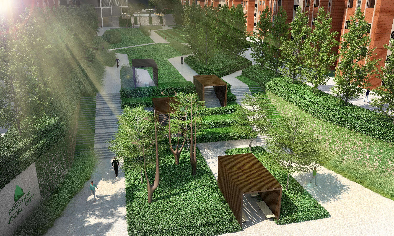 Terraced Plaza